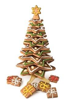 DELICIA mézeskalács karácsonyfa sablon - nagy (27 cm)