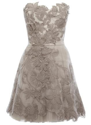 Gorgeous grey gown for #graduation #wedding #prom