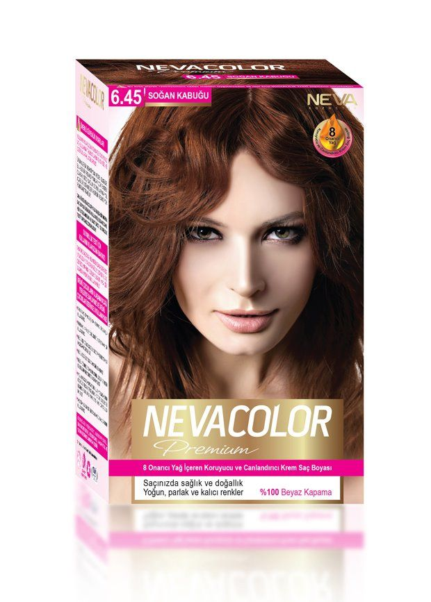 Nevacolor Premium Sac Boyasi 6 45 Sogan Kabugu Sac Boyasi Sac Yag