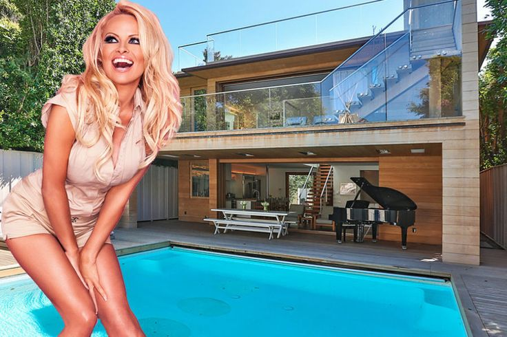 Inside Pam Anderson's Newly Restaged Malibu Beach House