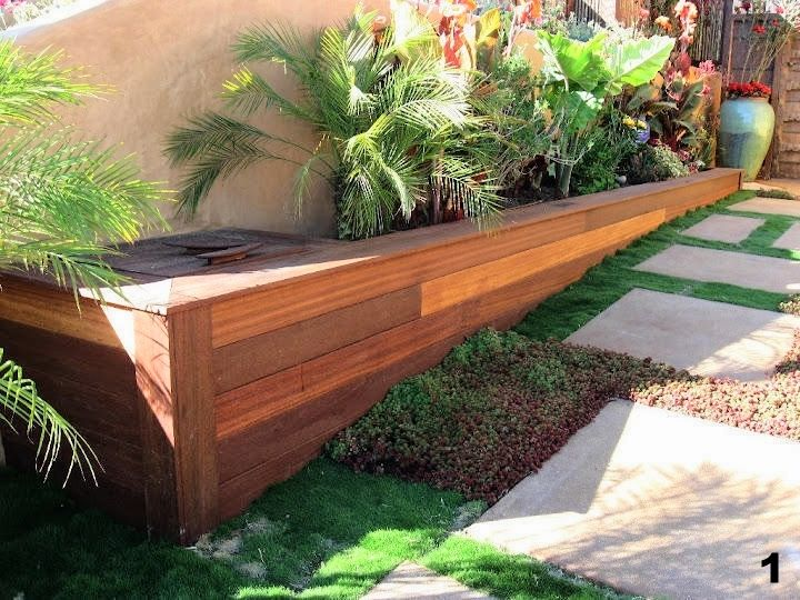 16 best planter boxes images on pinterest herb garden planter utilize built in outdoor planters bing images maybe reface the ugly cement and brick workwithnaturefo