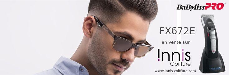 [CRÉEZ VOTRE LOOK] Pour réaliser vous-même votre #coupe de #cheveux ou rafraîchir entre deux rdv au #coiffeur, Innis Coiffure vous conseille la #tondeuse #pro #FX672E de BaByliss PRO - Continental Europe - 5 niveaux de réglage de la hauteur de coupe - Moteur puissant et silencieux - Faible Poids et manche en gomme anti-dérapante. En vente en ligne 99.90€ http://www.innis-coiffure.com/tondeuse-cheveux-babyliss-pro… #coiffeur #Coiffure #tondeuse #CoupeHomme #InnisCoiffure