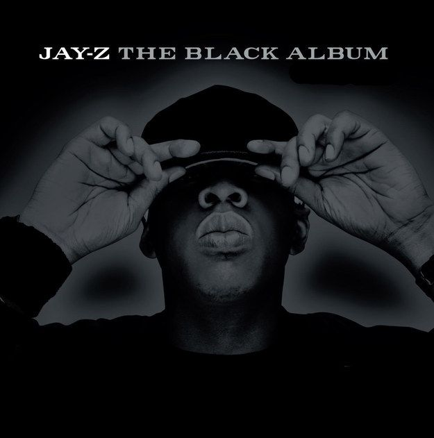 The Black Album by Jay Z (2003) | A Definitive Ranking Of The Best Hip-Hop Album Covers From The Early 2000s