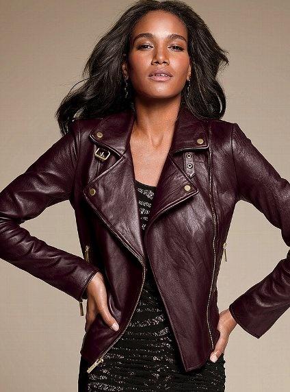 Leather Moto Jacket - Victoria's Secret