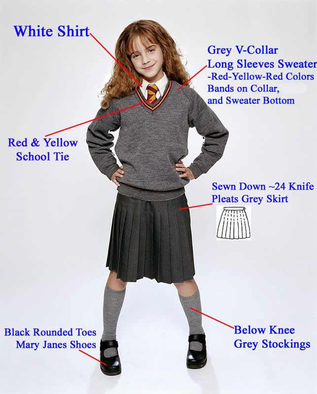 girl uniform harry potter | Harry Potter