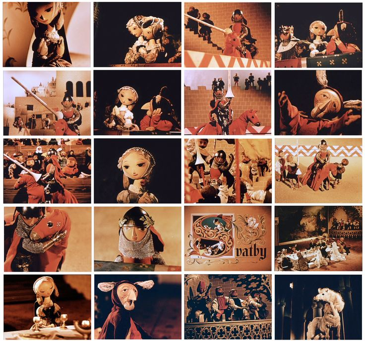 JIRI TRNKA'S 1950 puppet animation film PRINCE BAJAJA