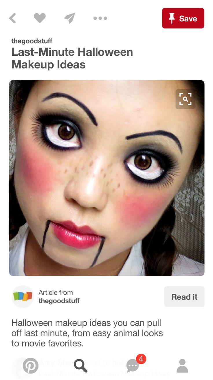 best hahaha l l o w e e n images on pinterest make up looks