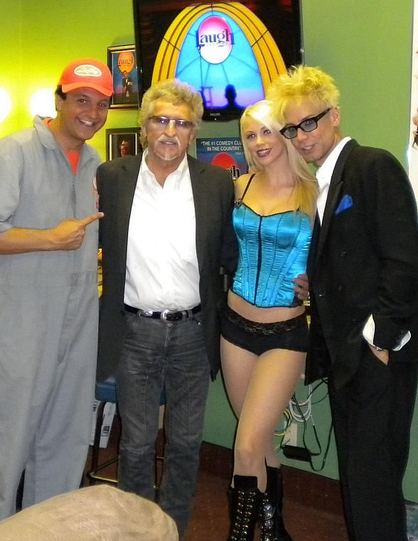 Celebrity Sighting: Johnny Stuart Visits 'MURRAY Celebrity Magician' at The TropicanaCelebrities Magician, Celebrities Sight, Murray Celebrities