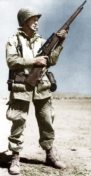 U.S.ARMY -  Airborne sniper in North Africa