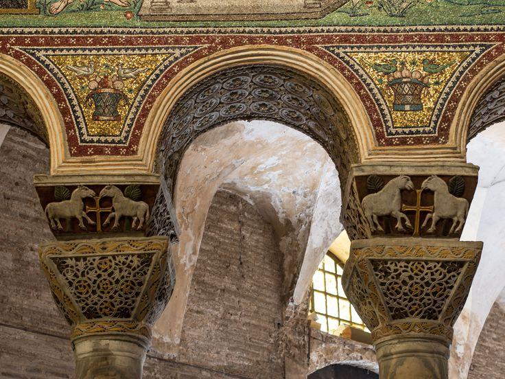 Basilica San Vitale, Ravenna, 526-547. Il periodo giustinianeo.