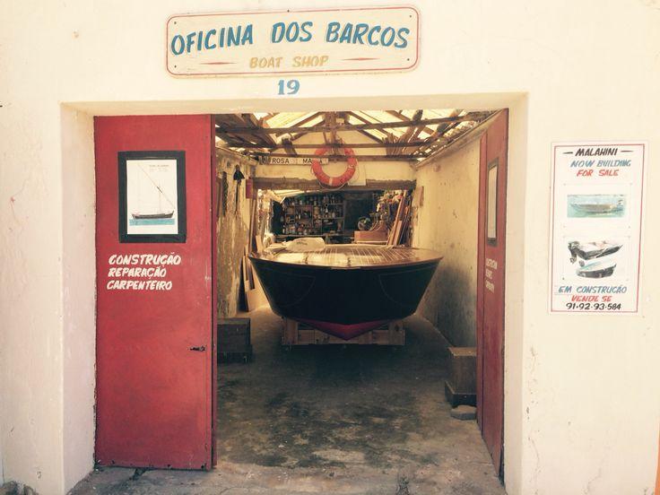 Ferragudo boat Shop