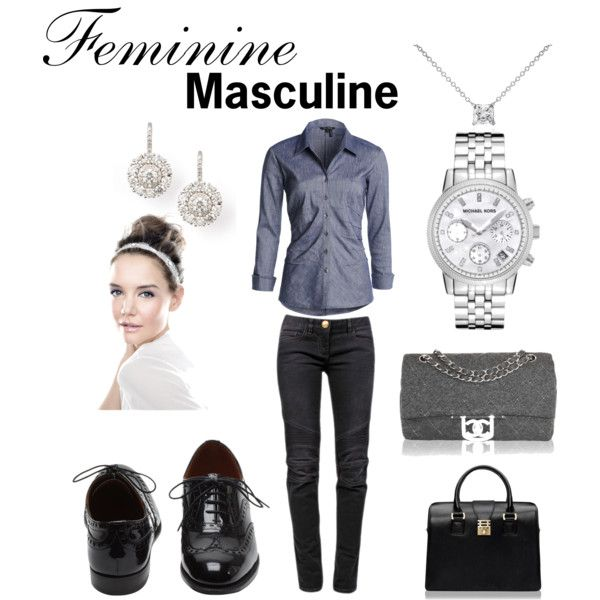 """""""Feminine/Masculine"""" by caryvanessa on Polyvore"""