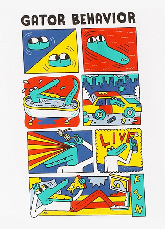 Andy Rementer x Lacoste L!VE | Joia Magazine
