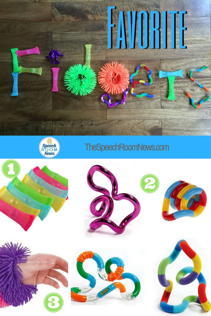 Favorite Sensory Fidgets for children with ADHD, AUTISM and more!