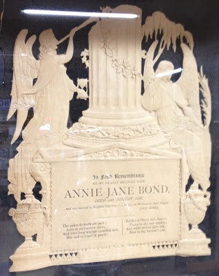 Olive Tree Genealogy Blog: Irish Funeral Card Annie Jane Bond 1888