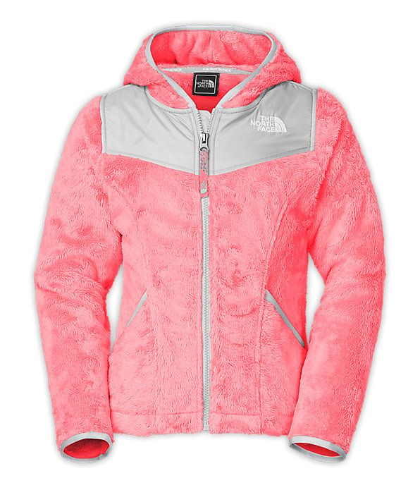 Fashionable AND warm! The North Face Girls' Jackets & Vests GIRLS' OSO HOODIE