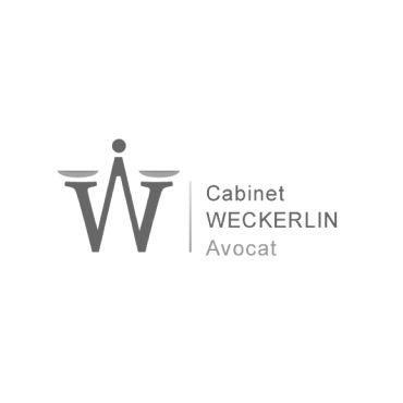 Création d'un logo pour le cabinet d'avocat Weckerlin. #logo #avocat