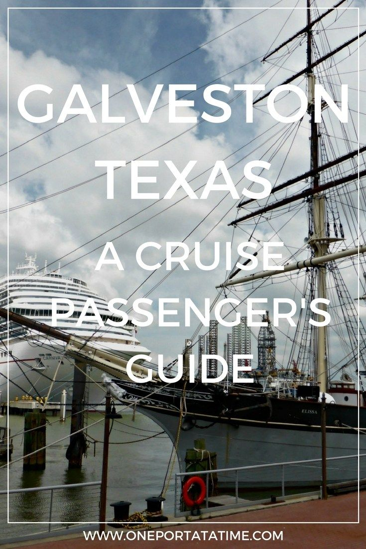 "Cruising from Galveston, Texas? Check out our guide about how to make the most of your pre or post-cruise stay. The guide includes attractions, tours/excursions, cruise parking, transportation options, and hotels with ""stay and cruise"" parking packages.  #cruiseport #cruiseguide #galveston #texas #USA"