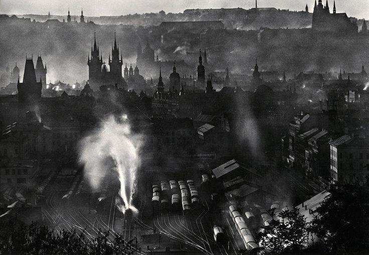 karel plicka | Prague, 1955, Karel Plicka