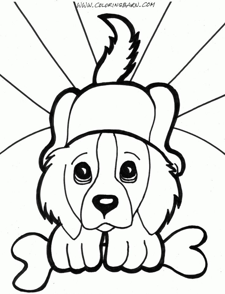 assistance dogs coloring pages - photo#43