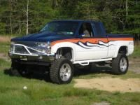 Manufacturers of high quality Nerf Steps, Prerunners, Harley Bars, Light Bars, Replacement Front Bumpers, Rock Rails, Rear Runners, Tire Carriers & Truck Accessories