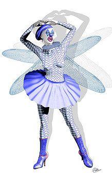 Quim Abella - Miss Fairy Pierrette