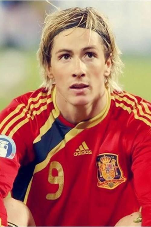 So Fernando Torres looks a lot like an older Grayson. Except Grayson is horrible at soccer.