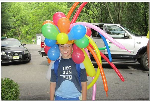 Crazy Hat Day at camp | Flickr - Photo Sharing!