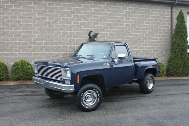 1978 Chevy Stepside 4x4 for sale: photos, technical specifications ...