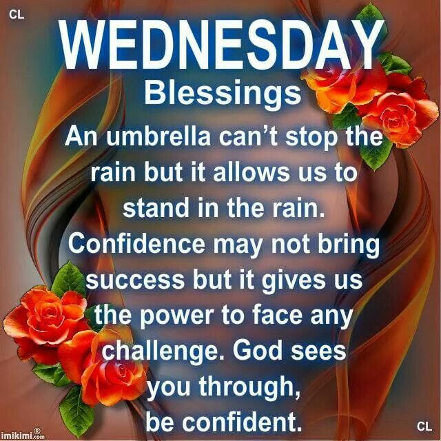 Wednesday Blessings Quotes Daily Inspiration Quotes