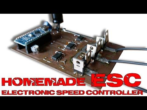 ESC electronic speed controller with arduino ALL EXPLAINED - YouTube