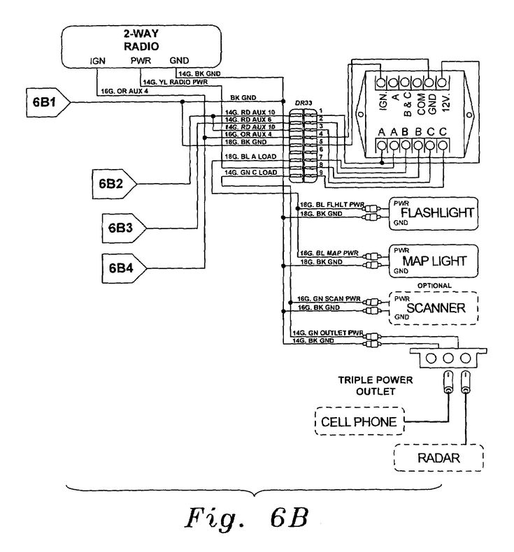 Federal Signal Light Bar Wire Diagrams