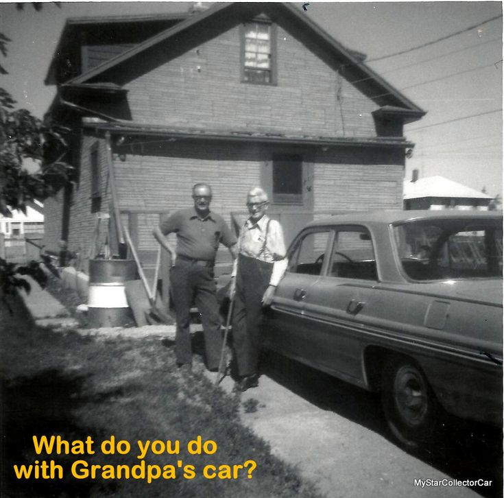 What do you do with Grandpa's old car? MyStarCollectorCar looks at possible fates for these unloved sedans. READ MORE: http://mystarcollectorcar.com/so-what-do-you-do-with-grand…/