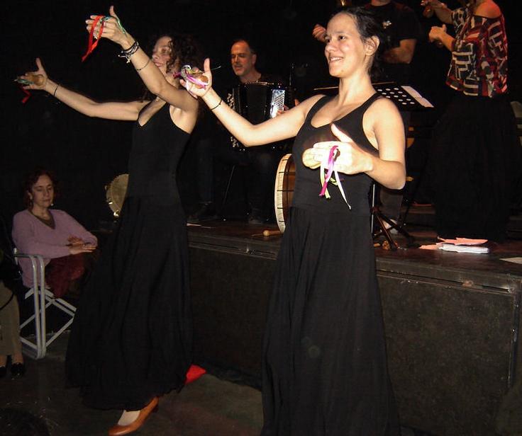 Ήμασταν εκεί: Η πέτρα που χορευει ...ταραντέλλα