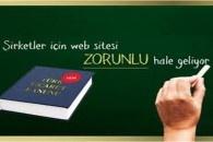 Birçok kişinin merakla beklediği internet sitesi zorunluluğunun Değişen Türk Ticaret kanunundaki son durumu      6335 sayılı kanunun 6. Maddesi ile 6102 sayılı Türk Ticaret Kanunun 39 uncu maddesinin ikinci fıkrası aşağıdaki şekilde değiştirilmiştir.