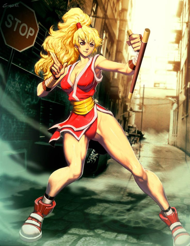 Street fighter - Maki by GENZOMAN.deviantart.com on @deviantART