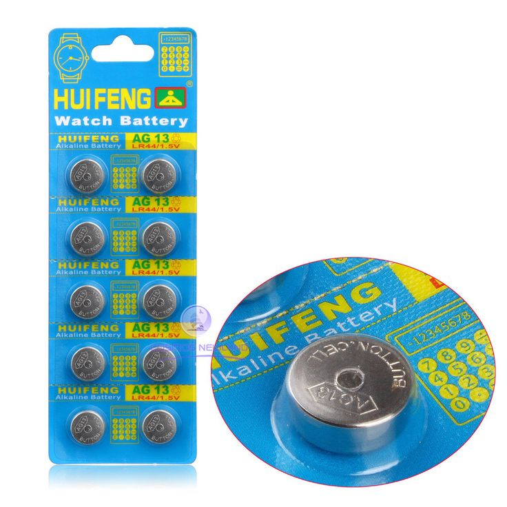 20pcs/LOT AG13 LR44 SR44SW SP76 L1154 RW82 RW42 357A button cell coin battery for watch,20pcs AG13 battery XINLU