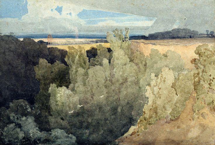 Brignall Banks on the Greta - John Sell Cotman - Leeds Art Gallery