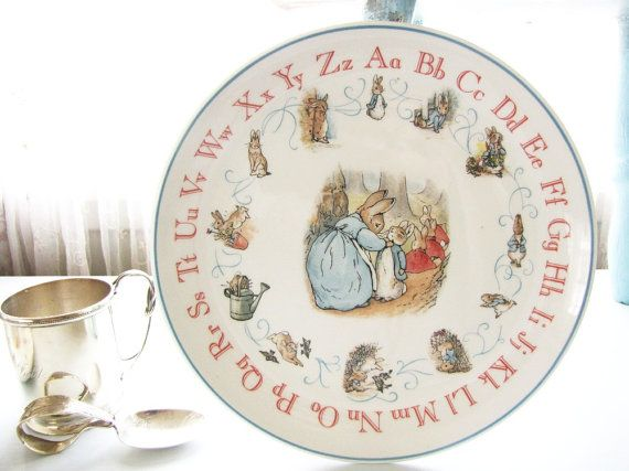 Peter Rabbit Dinnerware Amp Peter Rabbit Boyu0027s Plate