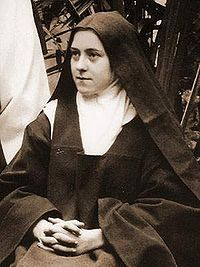 "St. Thérèse  """"Without love, deeds, even the most brilliant, count as nothing.""   ~ St. Thérèse de Lisieux"