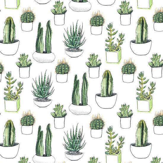 Freebie - Succulent Wallpaper | Workspaces, Cacti and Wallpaper
