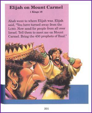Elijah on Mount Carmel (Story) - Kids Korner - BibleWise