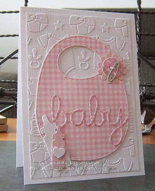 Image result for cards made using memory box baby bottles
