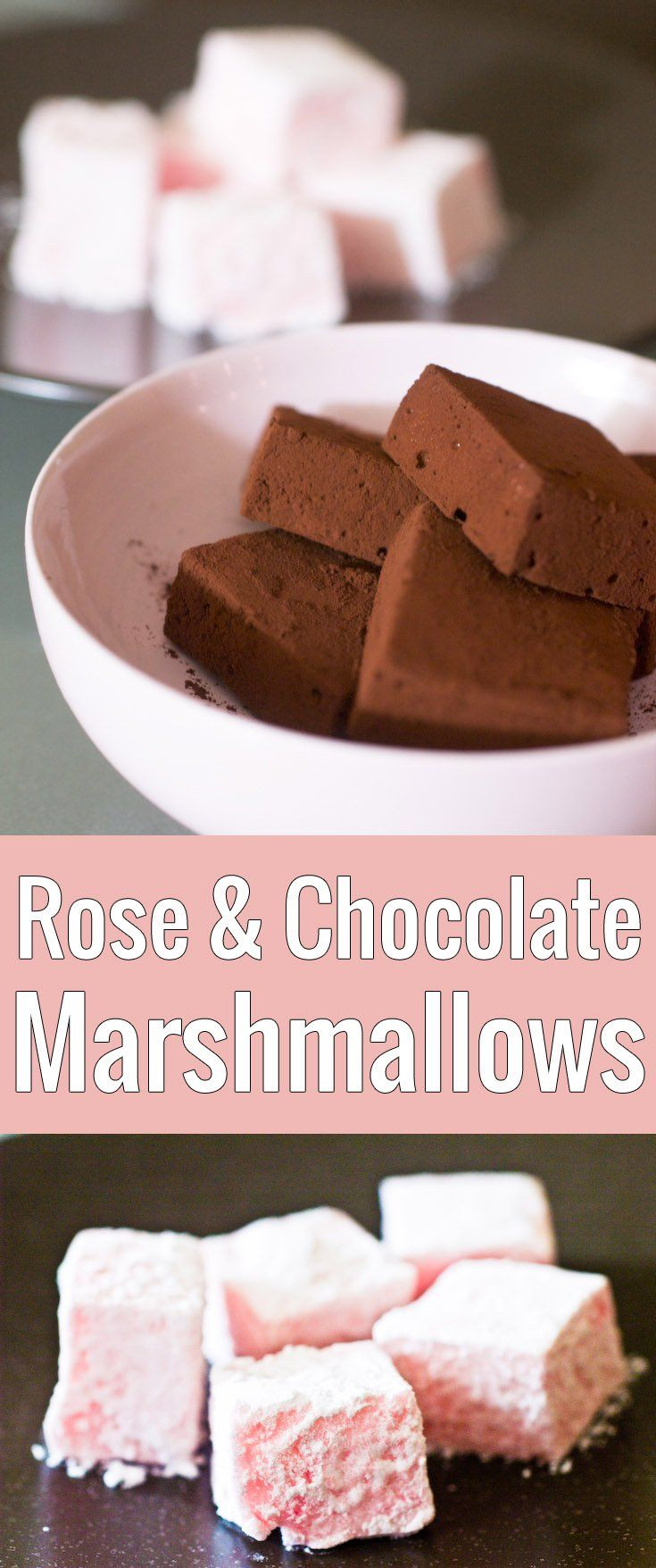 Guimauves are the French marshmallows, fluffy and plump, and they're super easy to make at home with this detailed recipe. Flavor them with chocolate or rose!
