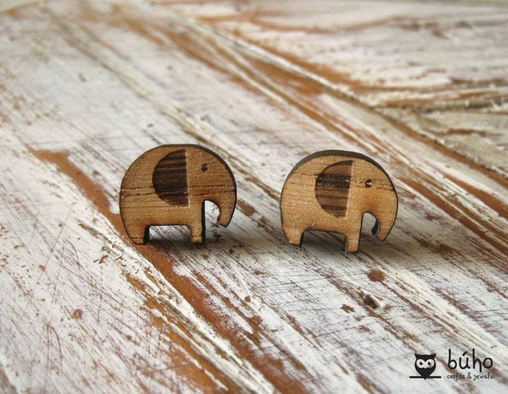 Elephant wooden studs