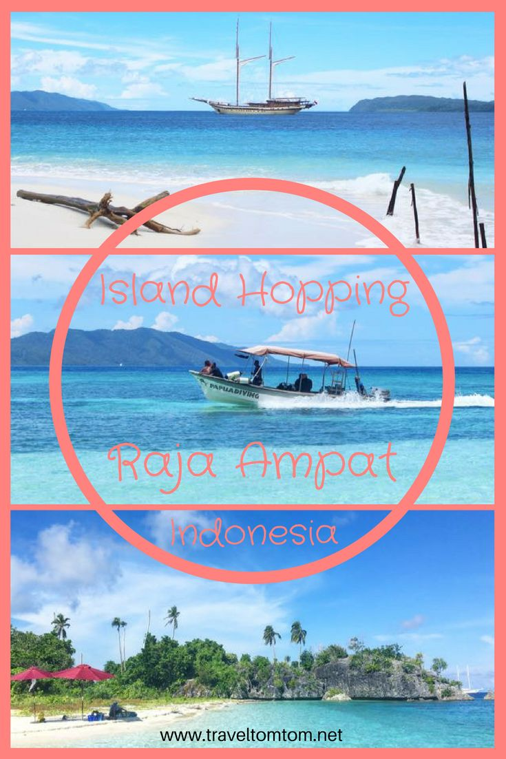 Island hopping in Indonesia next level! Take a trip to Raja Ampat and live your dreams!
