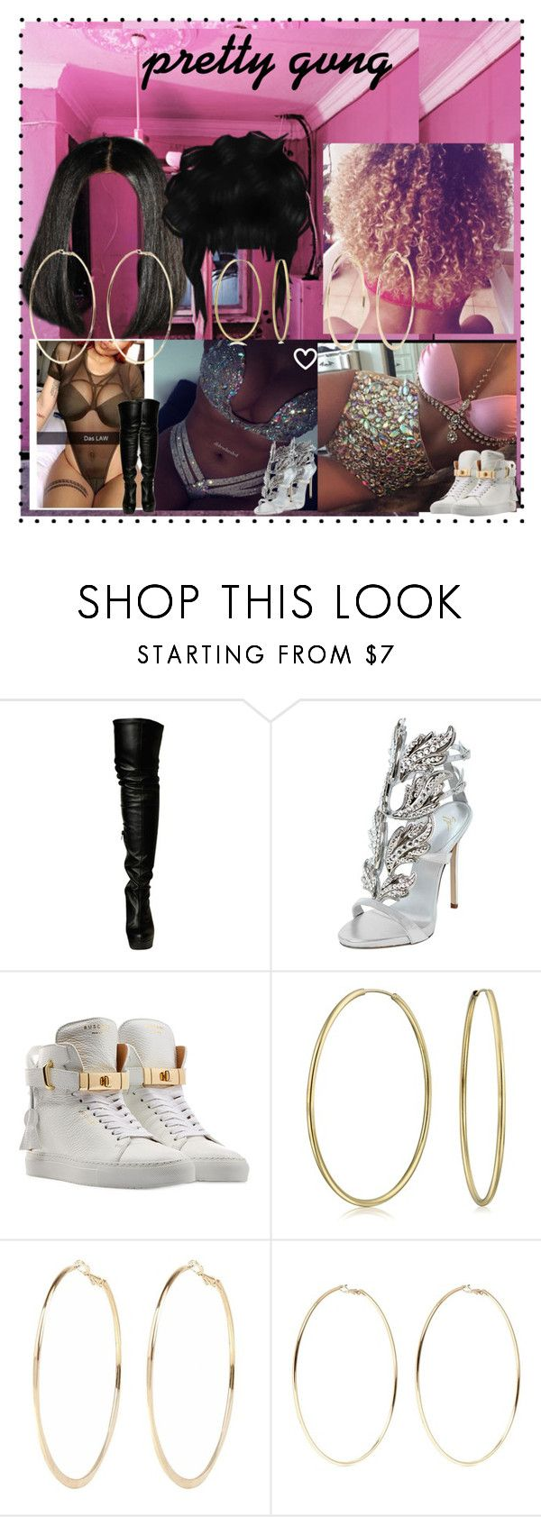 """VIDEO SHOOT"" by princesscece ❤ liked on Polyvore featuring Wild Pair, Giuseppe Zanotti, BUSCEMI, Bling Jewelry, River Island and Kenneth Jay Lane"