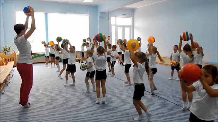 Ритмическая гимнастика с мячом   Светлячок