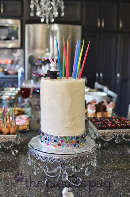 Sparkling Sequin Cake Band {for cute cakes}