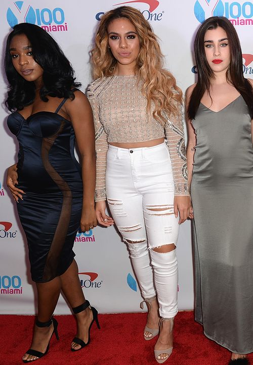 Fifth Harmony attend Y100's Jingle Ball 2016 at BB&T Center on December 18, 2016 in Sunrise, Florida.